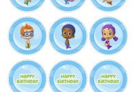 Images Of Bubble Guppies Banner Template  Netpei regarding Bubble Guppies Birthday Banner Template