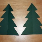 3D Christmas Tree Card Template