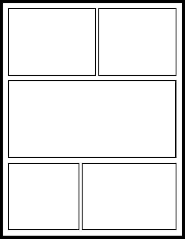 Images Of Free Printable Cartoon Template  Unemeuf Inside Printable Blank Comic Strip Template For Kids