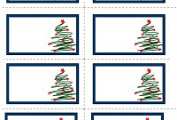 Images Of Free Printable Christmas Labels  Unit Christmas in Xmas Labels Templates Free