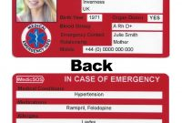 Images Of Icecontact Card Template  Bfegy inside In Case Of Emergency Card Template