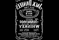 Images Of Jack Daniel S Label Template Vector Download  Soidergi pertaining to Jack Daniels Label Template