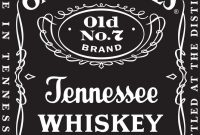 Images Of Jack Daniel's Bottle Label Template Wedding  Linaca pertaining to Jack Daniels Label Template