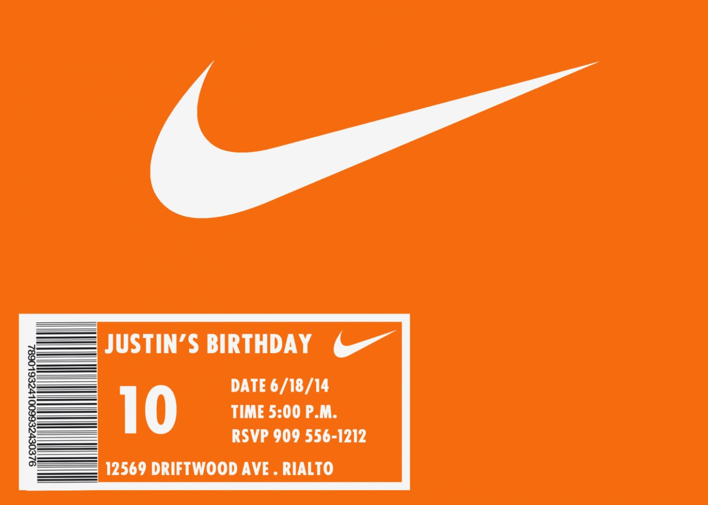 Images Of Nike Shoe Box Label Template  Lastplant – Label Maker Intended For Nike Shoe Box Label Template