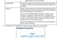 Import And Export User Guide Powerschool Student Information System with regard to Powerschool Reports Templates