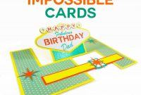 Impossible Card Templates Supereasy Popup Cards  Jennifer Maker in Popup Card Template Free