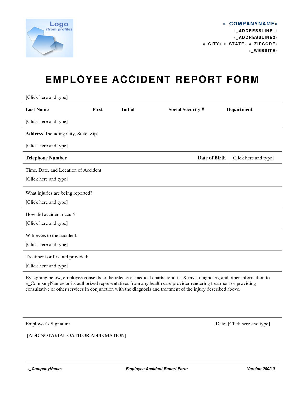 Incident Report Form Workplace Health And Safety Sample Letter In Throughout Health And Safety Incident Report Form Template