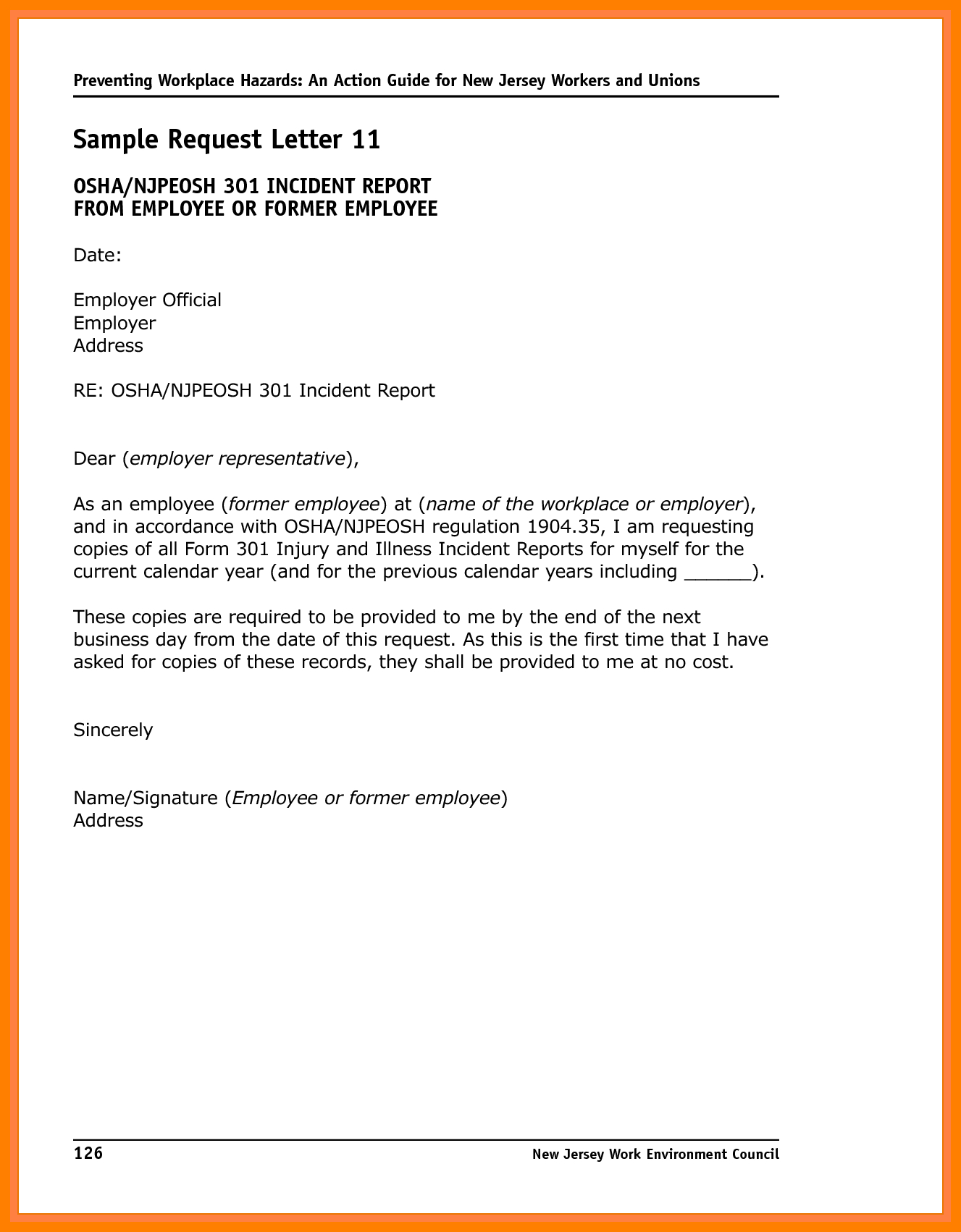 Incident Report Letter Examples  Pdf  Examples Intended For School Incident Report Template