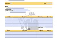 Independent Contractor  Invoice Template  Onlineinvoice within 1099 Invoice Template