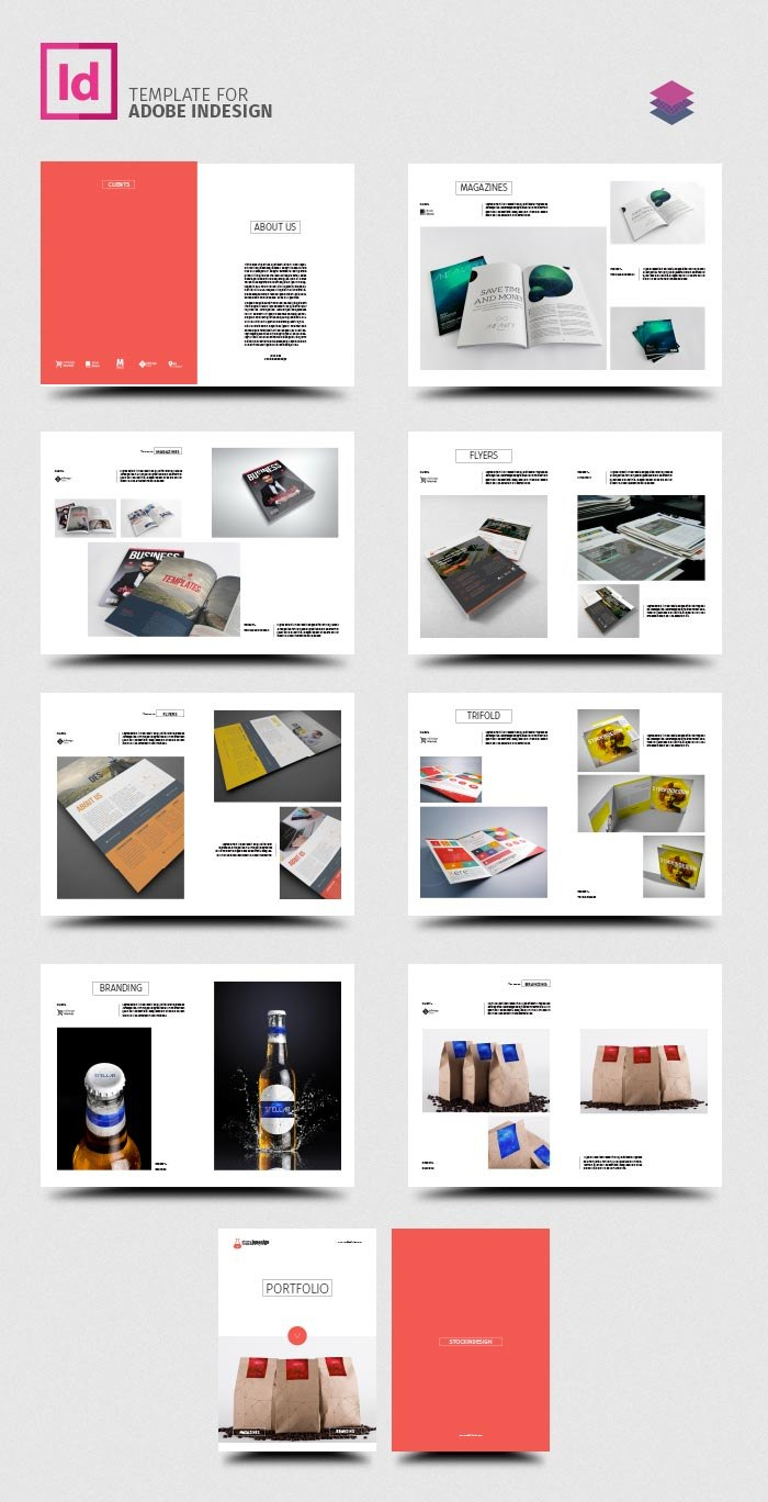 Indesign Template Free Brochure Templates Adobe Download Design Throughout Indesign Templates Free Download Brochure