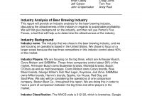 Industry Analysis Examples  Pdf  Examples in Industry Analysis Report Template