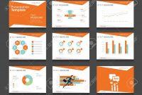 Infografik Orange Business Präsentationsvorlage Setpowerpoint regarding How To Change Powerpoint Template
