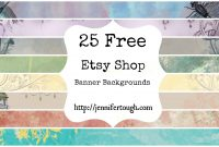 Inspirational Etsy Banner Maker Photos  Crosstabs throughout Etsy Banner Template