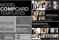 Inspirational Free Comp Card Template  Best Of Template intended for Free Model Comp Card Template