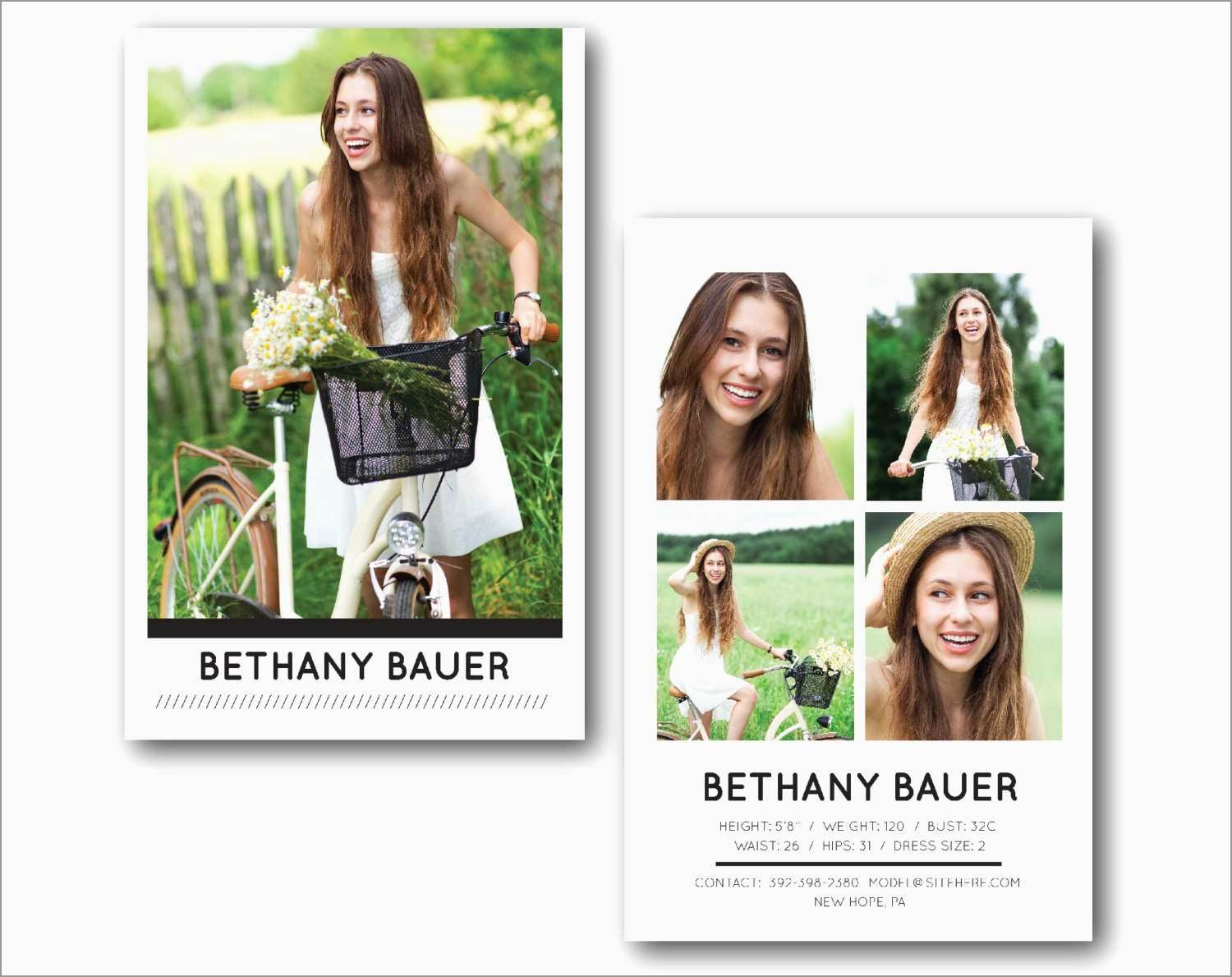 Inspirational Free Comp Card Template  Best Of Template With Zed Card Template