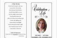 Inspirational Free Printable Funeral Prayer Card Template  Best Of with regard to Memorial Cards For Funeral Template Free