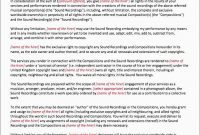 Inspirational Record Label Contract Template Free  Best Of Template with Record Label Contract Template