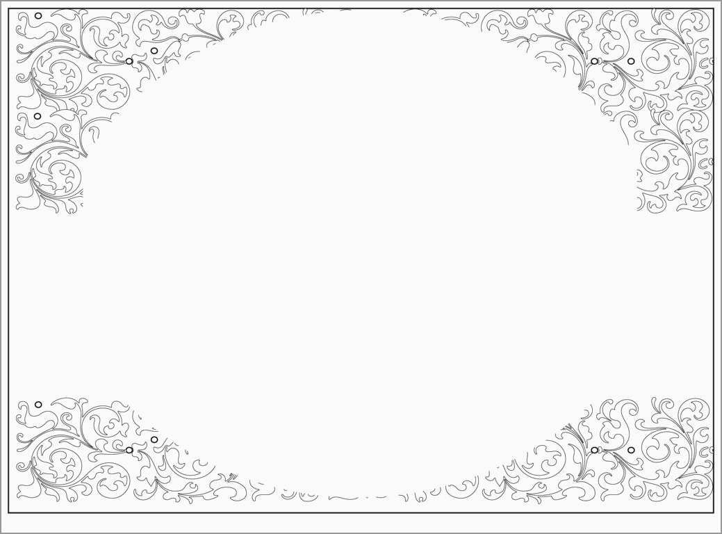 Inspirational Wedding Invitation Templates Free Download  Best Of Pertaining To Blank Templates For Invitations