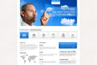 Insurance Responsive Website Template in Professional Website Templates For Business