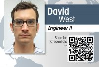 Interglobal Portrait Id Card With Qr Code Credential Verification pertaining to Portrait Id Card Template