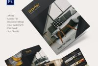 """Interior Design Brochure €""""  Free Psd Eps Indesign Format within Creative Brochure Templates Free Download"""