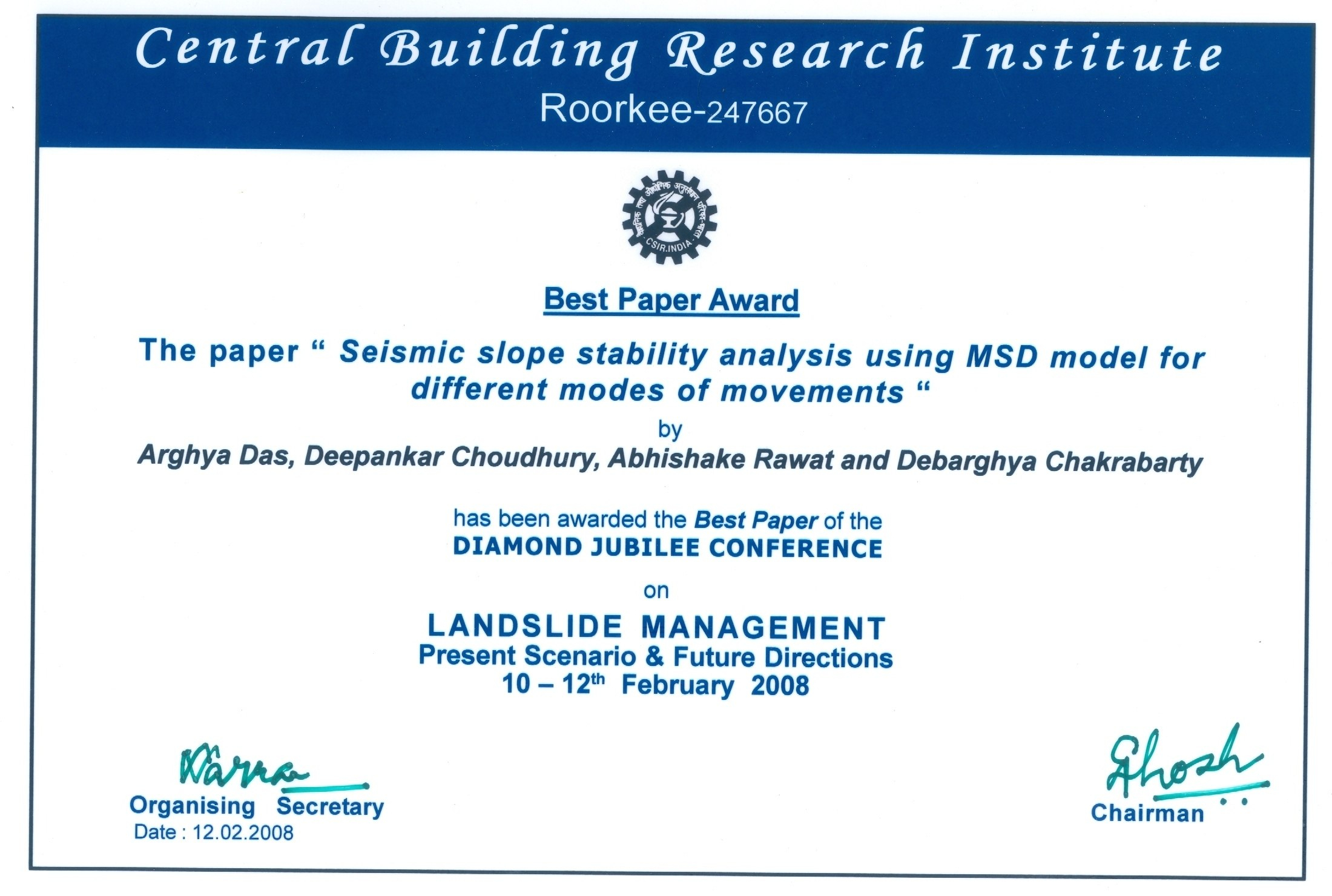 International Conference Certificate Templates  Mandegar For International Conference Certificate Templates