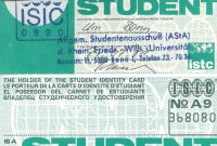 International Student Identity Card  Wikiwand intended for Isic Card Template