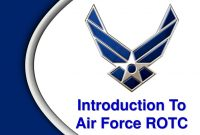 Introduction To Air Force Rotc  Ppt Download with Air Force Powerpoint Template