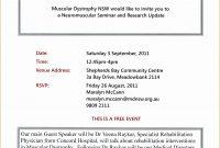 Invitation Template For Seminar New Seminar Invitations Template Of throughout Seminar Invitation Card Template