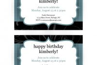 Invitations  Office regarding Celebrate It Templates Place Cards