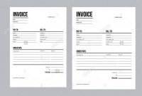 Invoice  Business Template  European And Usa Standard Paper Stock within European Invoice Template
