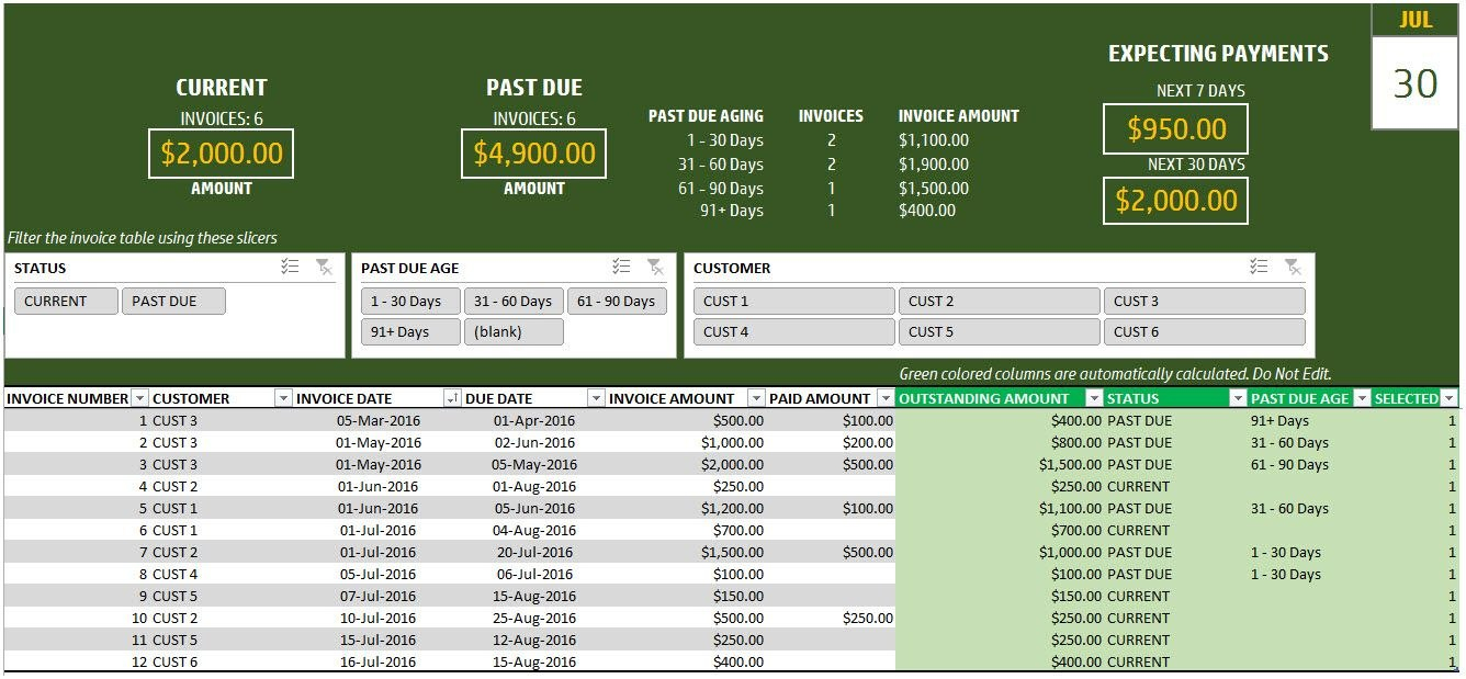 Invoice Payment Tracking Spreadsheet  Business Templates With Regard To Invoice Tracking Spreadsheet Template