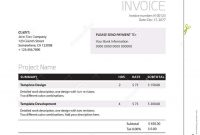 Invoice Template  Classy Black And White Business Design Stock for Black Invoice Template