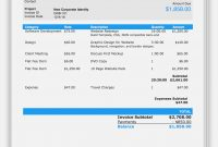 Invoice Template For Pages Proforma Uk Templates Example Ios with regard to Invoice Template For Pages