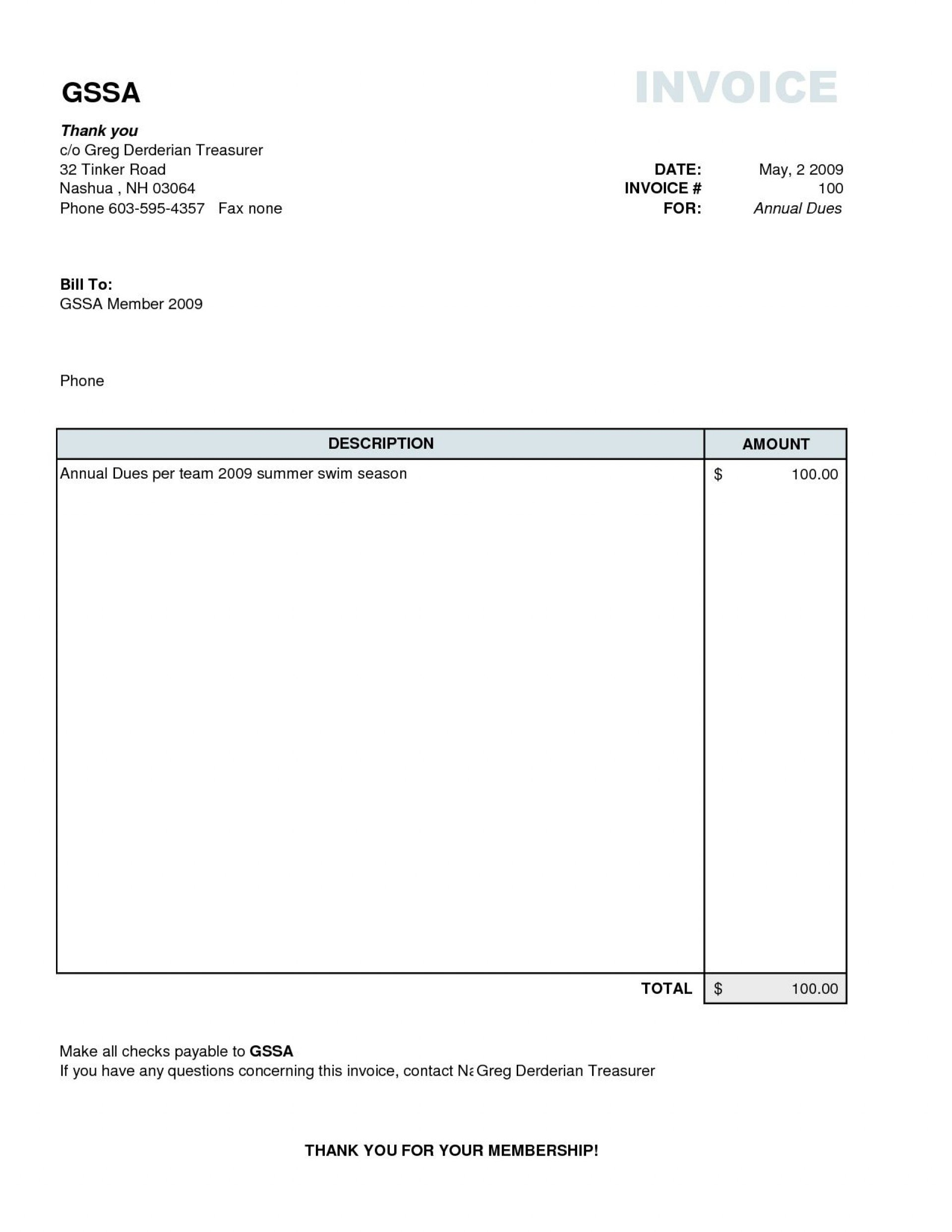 Invoice Template Plan Imposing  Templates Example in 1099 Invoice Template
