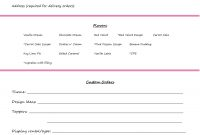Invoiceorder Form Setup  Cupcakes In   Cake Order Forms with regard to Bakery Invoice Template