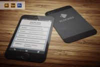 Iphone Business Card Template Archaicawful Ideas Psd Free Pages for Iphone Business Card Template