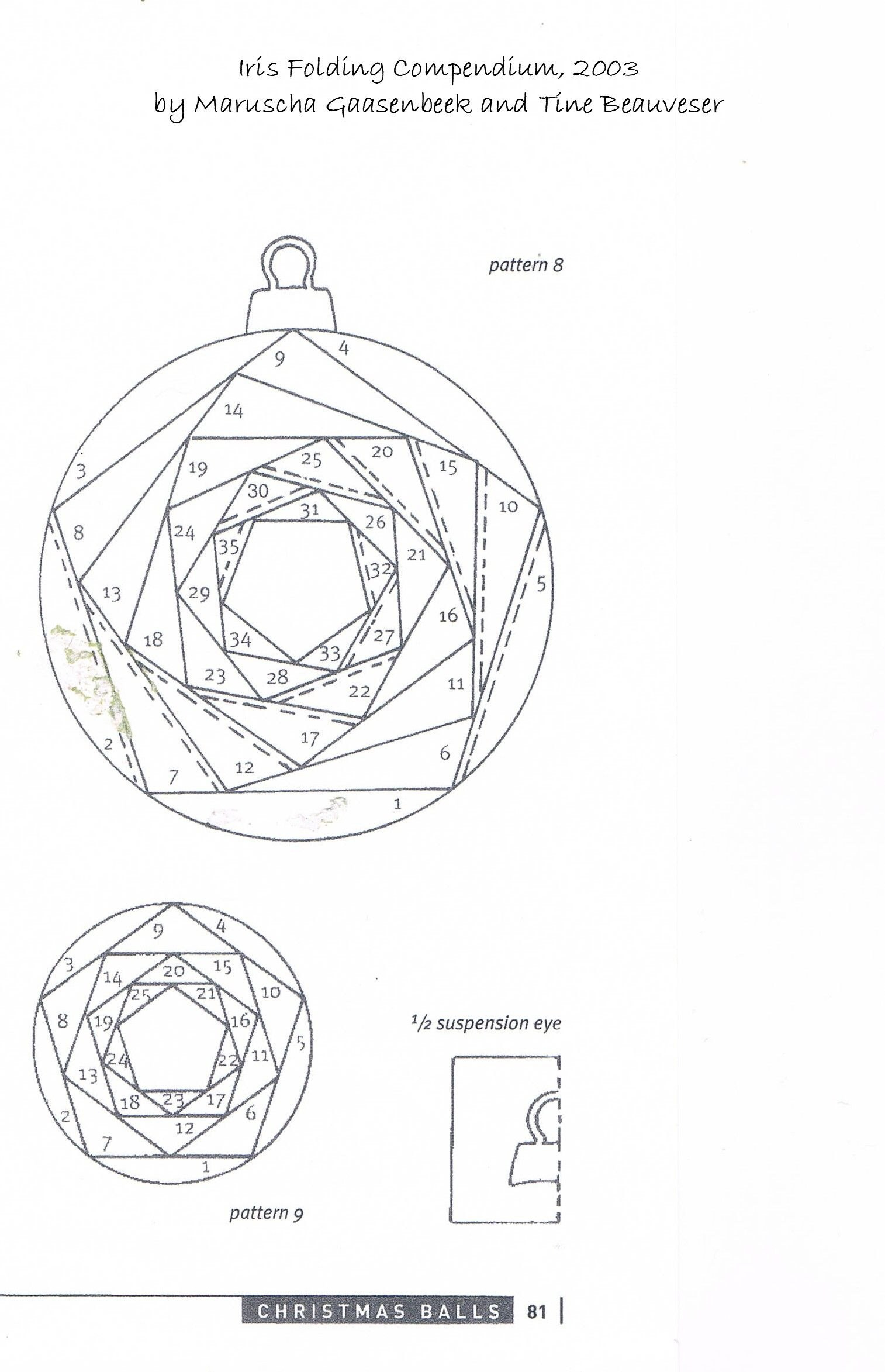 Iris Folding Patterns Free Printables   Made Using A Basic Iris Intended For Iris Folding Christmas Cards Templates