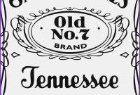 Jack Daniels Custom Label Maker  Trovoadasonhos for Jack Daniels Label Template