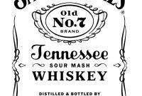 Jack Daniels Logo Png  Free Transparent Png Logos intended for Jack Daniels Label Template