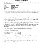 Janitorial Service Agreementhgh  Sample Janitorial intended for Janitorial Service Agreement Template