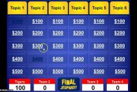 Jeopardy Powerpoint Template  Youtube pertaining to Jeopardy Powerpoint Template With Sound
