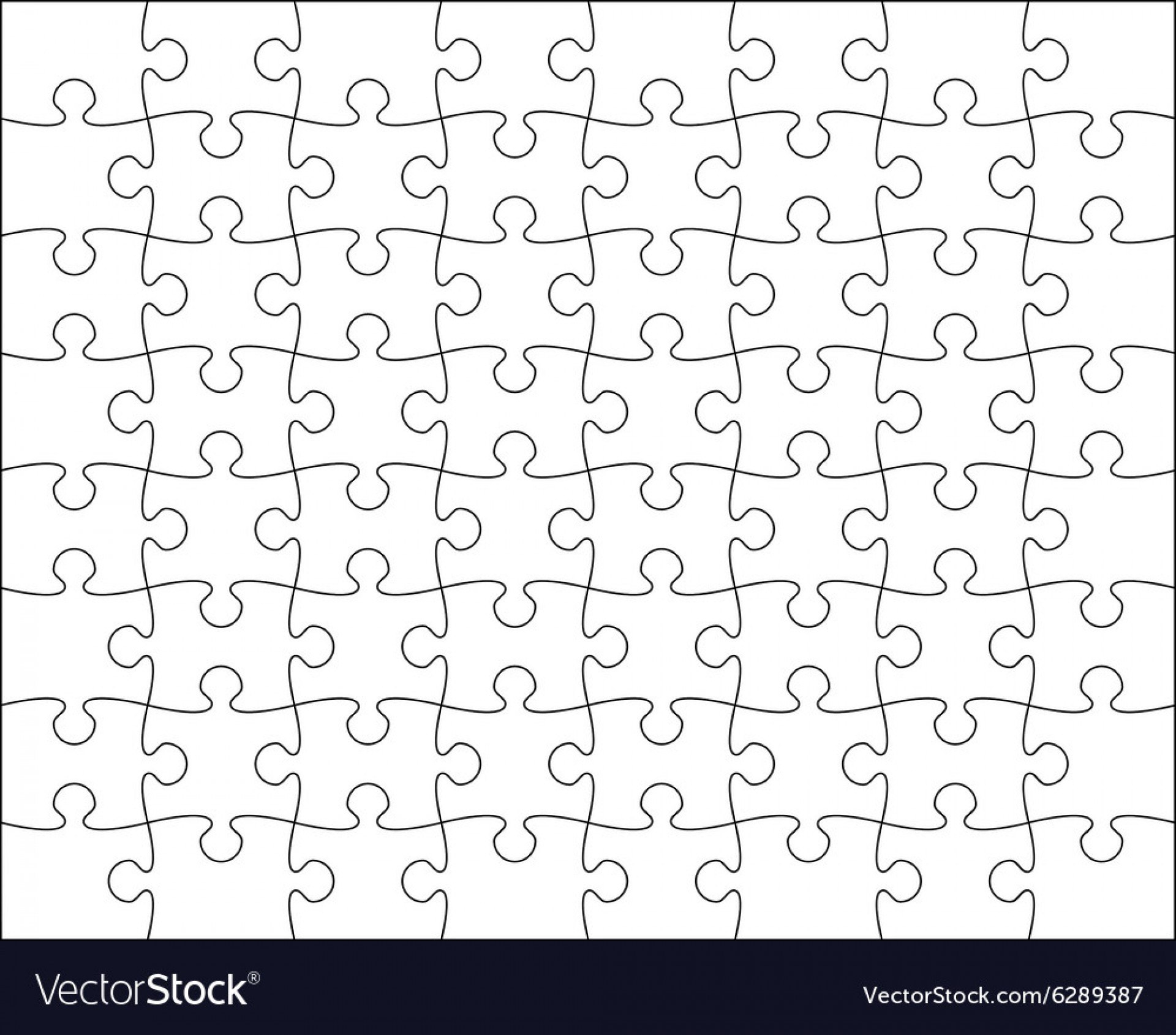 Jig Saw Puzzle Template Jigsaw Blank Simple Best Ideas Regarding Jigsaw Puzzle Template For Word