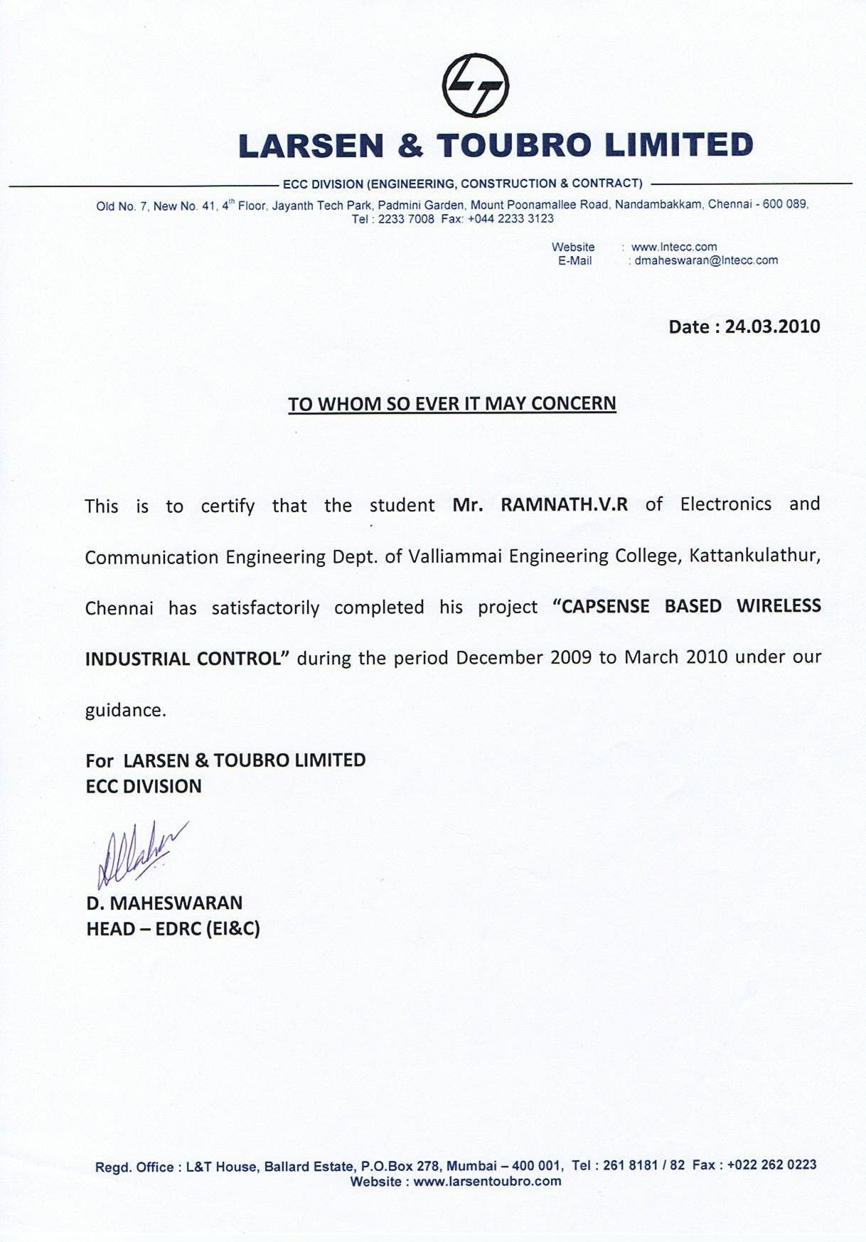 Job Experience Letter Valid Example Certificate Job Experience Within Template Of Experience Certificate