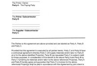 Joint Check Agreement  Fill Online Printable Fillable Blank with regard to Joint Check Agreement Template