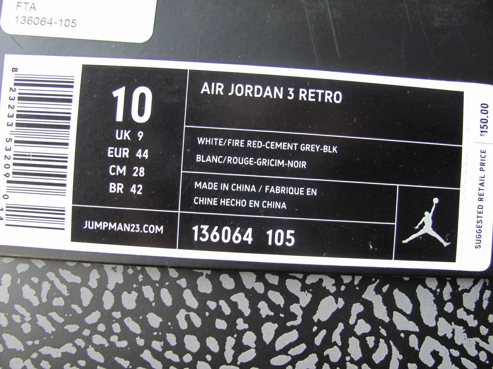 Jordan Shoe Box Label Style Guru Fashion Glitz – Pictimilitude Intended For Nike Shoe Box Label Template