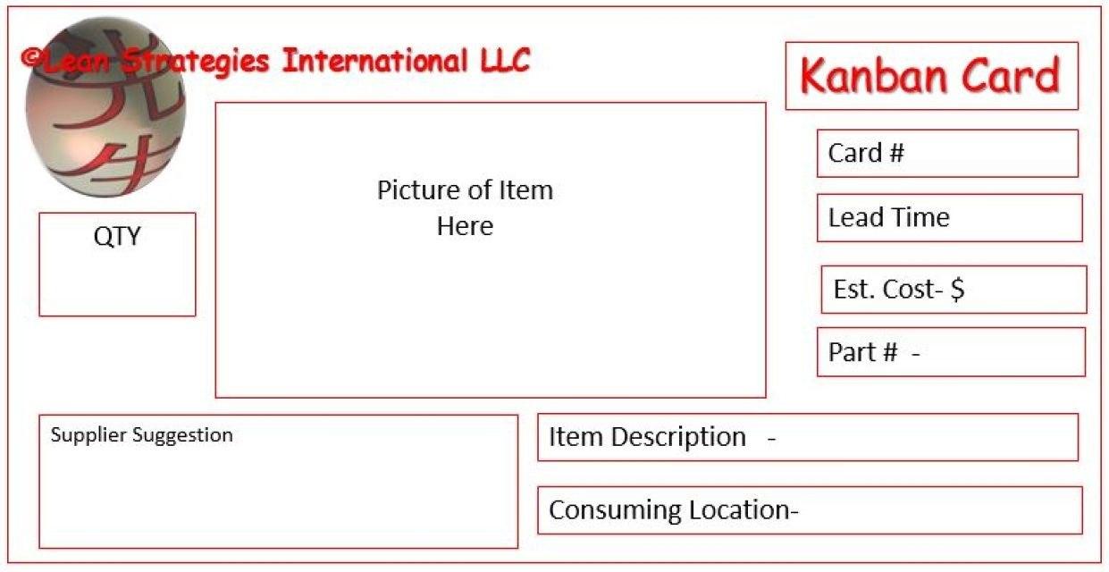 Kanban Card Templates  Kanban  Kanban Cards Card Templates Templates With Kanban Card Template