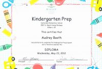 Kindergarten Promotion Certificates  Toha pertaining to Promotion Certificate Template