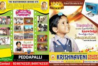 Krishnaveni Telent School Brochure Design Template  Brochures In pertaining to School Brochure Design Templates