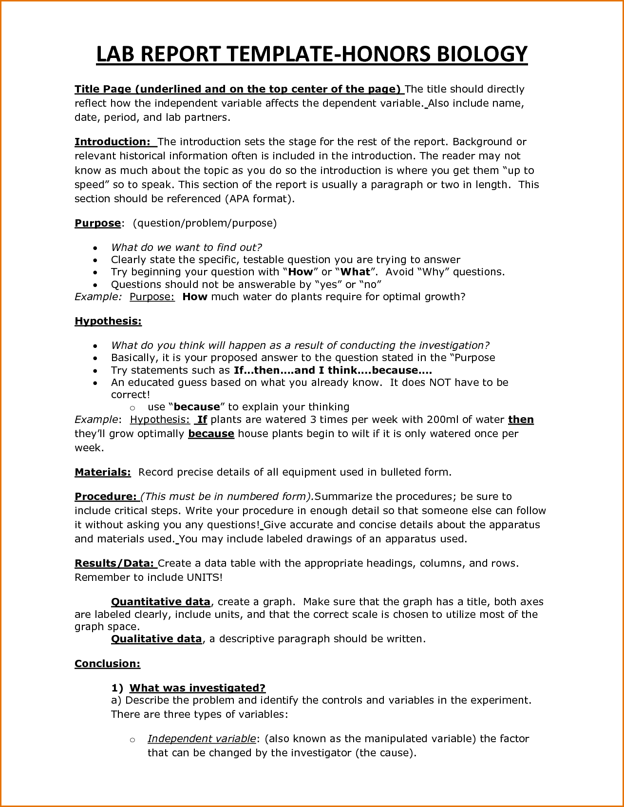 Lab Report Template Word Stupendous Ideas Engineering Project Throughout Lab Report Template Word